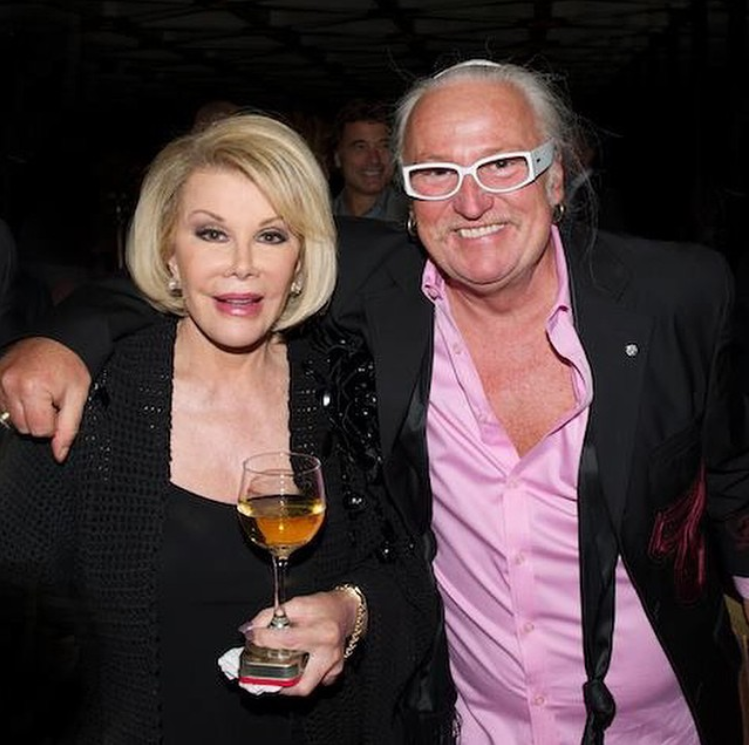 David Smith and Joan Rivers