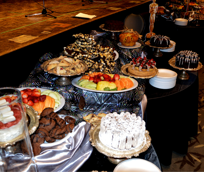 Event dessert table