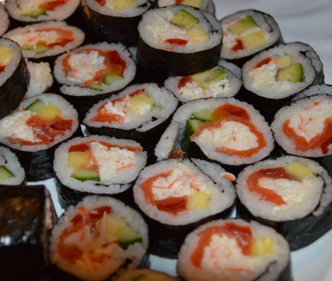 cream cheese sushi