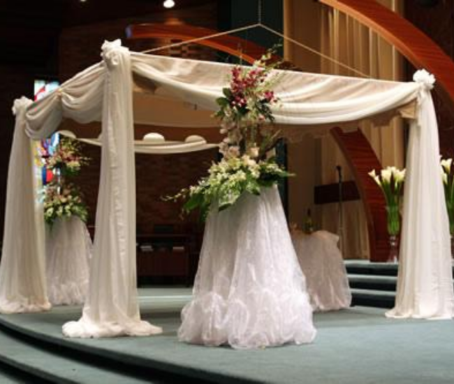 large wedding canopy